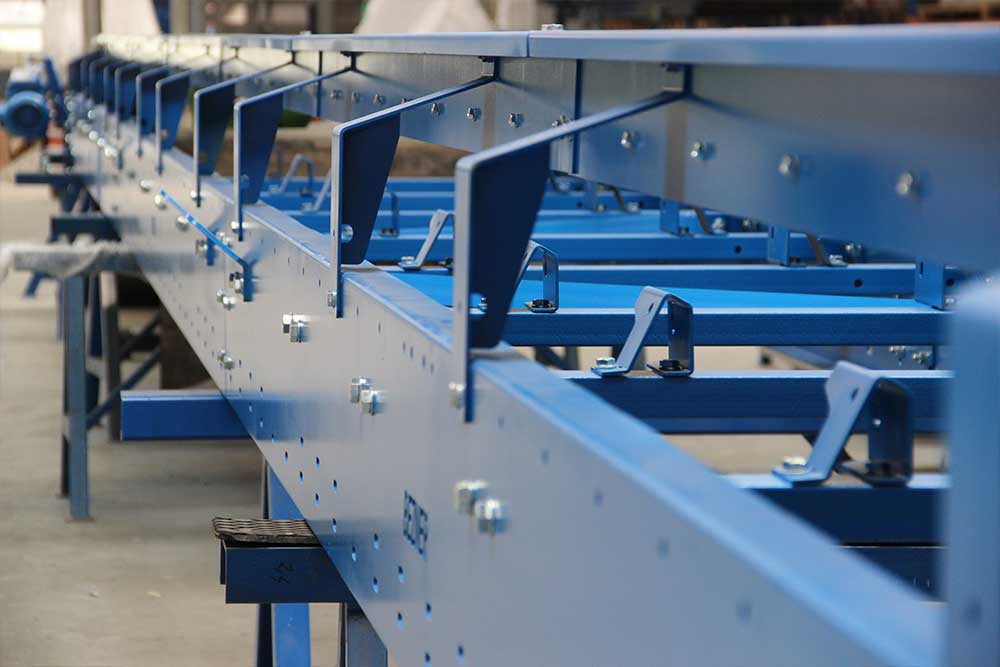 production of belt conveyor