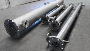 Shell & Tube heat exchangers for Biogas de