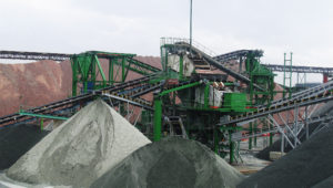 granite sorting and classification