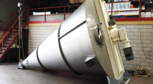manufacturing of conical mixers