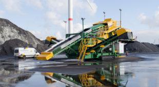 mobile screen for coal