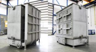 tubular heat exchanger - toluene evaporator
